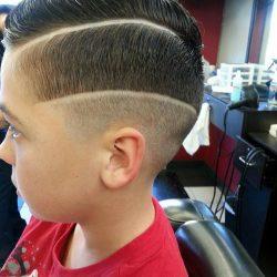 boy hair cut
